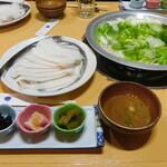車屋・源氏 - 料理写真:たこしゃぶご膳