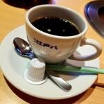 牛屋 江戸八 - 食後のコーヒー
