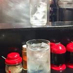 王味 - 焼酎水割りおかわり