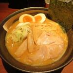 楓 - 味噌らーめん 840円 玉子 100円
