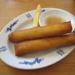 フォー ラスカル - 海老と里芋の春巻