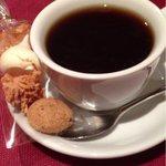 アルモニア - 小菓子つきのコーヒー