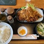 122663179 - チキンカツ定食