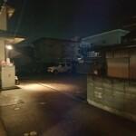 さい藤 - 奥の駐車場