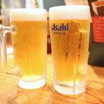 萩の茶屋 - スーパードライ生