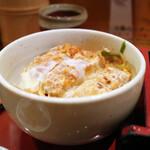 萩の茶屋 - ミニかつ丼