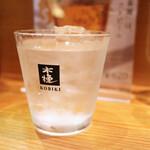 萩の茶屋 - 日向古秘(水割り)