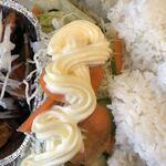 貧頭 - 日替わりチキンコンボセットのサラダ