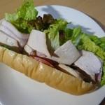 Fresh Burger m - チキンベーコン[\200]