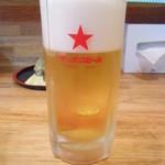 ようじ - 生ビール サッポロ