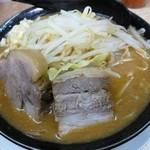 時代屋 - みそらーめん(麺200g・ニンニク中・野菜中)[\700]