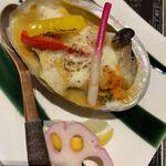 海鮮の國 波奈 - 海宝焼き