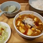 122673433 - 四川麻婆豆腐&餃子定食 880円