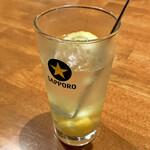 牛タンいろ葉 - *塩レモンサワー(¥490)