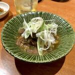 牛タンいろ葉 - *定番!牛タンの生姜煮(¥499)