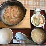 桃園 - 香箱蟹のあんかけ炒飯