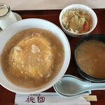桃園 - 香箱蟹の天津飯
