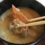 桃園 - 香箱蟹の味噌汁