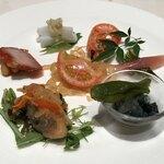 広東料理 台場 楼蘭 - 前菜の盛り合わせ