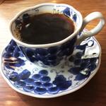 orq. - ホットコーヒー、軽い苦味と香りが美味しい。ランチプレートとセットで¥300