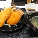 吉野家 - ミックス牛肉コロッケ定食