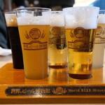 122684694 - 世界の樽生ビール5種飲み比べセット