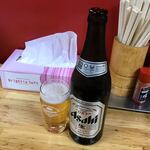 ラーメン広宣 - [2019/12]瓶ビール(700円)