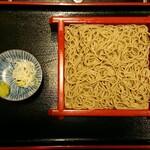122689115 - 2019/12 生粉打ち ¥850                       国内産地名表示の十割蕎麦(千葉県八街産)