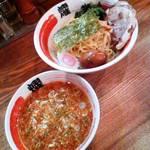 12269584 - 伝説のつけ麺(大盛)750円+味玉(クーポン)