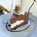 カフェ ムルソー - ショコとバナナのケーキ