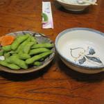 茶がま - 枝豆