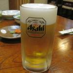 茶がま - ビール飲んで疲れなおす~