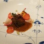 Aroma Fresca Nagoya - メイン 牛頬肉の赤ワイン煮込み