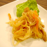 沖縄料理 二 - 付き出し:切干し大根
