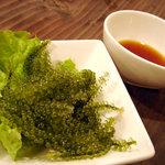 沖縄料理 二 - 海ぶどう