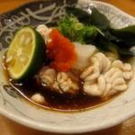 鮨処 久兵衛 - 鱈白子 ポン酢