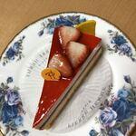 PIERRE HERME PARIS - チーズケーキ セレスト、上から。