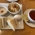 Cafe Place Mu - ミックスサンド モーニング