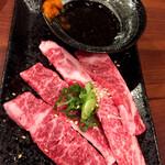 阪神尼崎 肉焼屋 - 上カルビ〜焼きしゃぶ