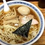 中華そば つけ麺 甲斐 - 味玉そば(大)