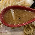 ど・みそ - 【2019.12.20】どっしり旨い味噌スープ。