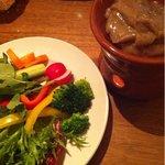 12271476 - 有機野菜のバーニャカウダー