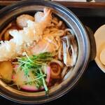 四国屋 - 鍋焼きうどん 1,300円