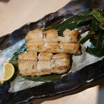 魚と溶岩焼 温 - 鰻の白焼き