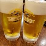 焼肉北京 - ビール