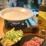 ひつじや - グリーンカレー鍋