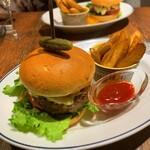 ディディ グランデ - ランチのハンバーガー1,500円