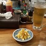 スパイス食堂サワキチ - シャンディガフと辣油セロリ