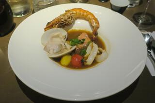 藤沢 日本酒×肉バル 来酒 - ポアソン 世界三大スープ、マルセイユ風ブイヤベース