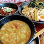 はまゐば - 料理写真:つけ麺特盛り(400g) 1030円 + チャーシュー丼セット 270円